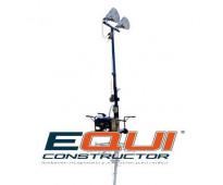 Torre de iluminación 2 focos mpower