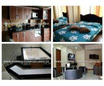 Apartamento amoblado para la renta en medellin el poblado cod*/*/ 8321