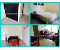 Apartamento amoblado para alquilar en los colores cod:06 2034