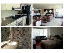 Apartamento en arrendamiento - el poblado el tesoro cod: 9732