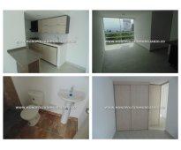 Apartamento en alquiler - maria auxiliadora sabaneta cod:): 10427