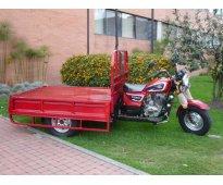 Motocarguero yitaki, motor 200 c.c. 4 tiempos, para carga, listo para trabajar