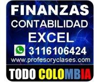 Profesor particular contabilidad finanzas excel estadistica a domicilio medellin
