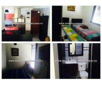 Apartamento amoblado para alquilar en medellin - calasanz  cod: 7610