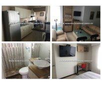 Apartamento amoblado para la renta en envigado - zuñiga cod: 8751