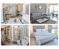 Apartamento amoblado para la renta en medellin sector laureles cod: 8632