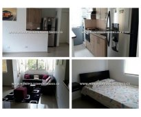 Apartamento amoblado para alquilar en el poblado sector san julian  cod: 8508