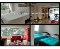 Apartamento amoblado para la renta en medellin sector viscaya en el poblado cd 4