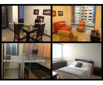 Apartamento amoblado para la renta en medellin sector oviedo en el poblado cd 43