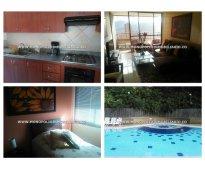 Apartamento amoblado en medellín - el poblado  cod: 5303