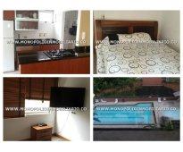 Apartamento amoblado en zúñiga - envigado  cod: 6296