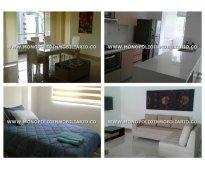 Apartamento amoblado en el poblado - medellín  cod: 5857