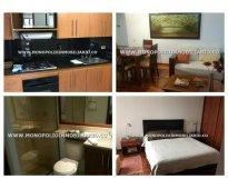 Apartamento amoblado para la renta en medellin - el poblado cod: 8752