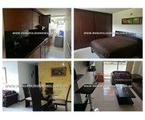 Apartamento amoblado para alquilar sector ciudad del rio - el poblado  cod: 7779