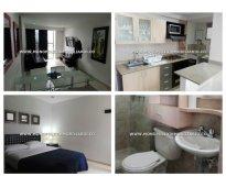 Apartamento amoblado para alquilar sector ciudad del rio el poblado  cod: 7558