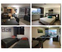 Apartamento amoblado para alquilar en el poblado sector oviedo  cod: 7724