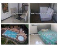 Apartamento amoblado para alquilar en envigado camino verde  cod: 7719
