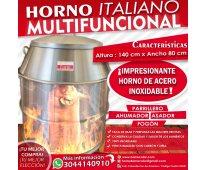 Horno ahumador peruano