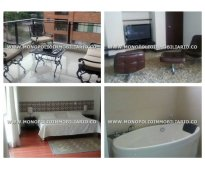 Apartamento amoblado para la renta en medellín - poblado   cod: 4825