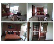 Apartaestudio amoblado para la renta en medellín - poblado  cod: 4846