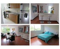 Apartamento amoblado en medellín - poblado  cod: 4954