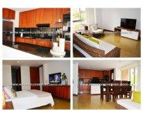 Apartamento amoblado para alquilar en medellin el poblado cod 8543