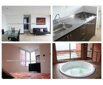 Apartamento amoblado para alquilar en sabaneta - sector san jose  cod: 7534