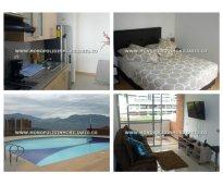 Apartamentos amoblados para alquilar en el poblado - loma del indio  cod: 7452