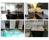 Apartamento amoblado para alquilar en el poblado sector ciudad del rio  cod: 745
