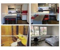Apartamento amoblado en medellin el poblado cod 6959
