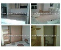 Apartamento amoblado para alquilar en medellin sector  loma del indio  cod: 6900