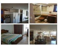 Apartamento amoblado para la renta en el poblado sector  san lucas cod: 6694