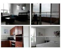Apartamento amoblado en el poblado - el tesoro  cod: 6674