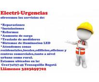 Electricista,chapinero,quintaparedes,las americas,campin,marly,la soledad,catalu...
