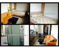 Apartamento amoblado en medellin  sector la castellana en laureles d 4193