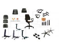 Cambio de perillas en sillas de oficina