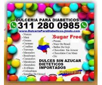 ⭐ dulceria, dulces, con, sin azúcar, sugar free, dietéticos, para diabeticos, im...