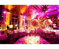 Alquiler de luces de luces y sonido para bodas y eventos en cartagena