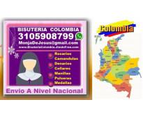 ⭐ bisuteria colombia, camandulas, rosarios, denarios, pulseras, collares, manill...