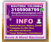 ⭐ bisuteria colombia, rosarios, camandulas, pulseras, denarios, collares, manill...
