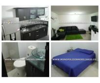 Apartamento amoblado para alquilar en el poblado cod. 1156
