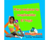 Realiza yoga con nosotras