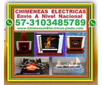 ⭐ fabrica chimeneas electricas o etanol, bogota, cali, medellin, barranquilla, c...