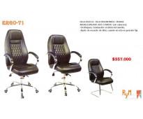 Cambio de cilindro para sillas