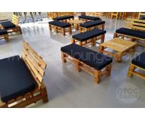 Alquiler de mobiliario rústico