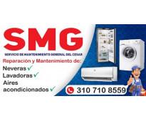 Smg servicio de mantenimiento general del cesar