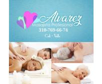 Servicio de masajes antiestres para hombres serios y educados