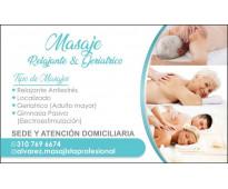 Servicio de masajes al norte de cali - con sede