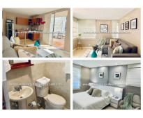 Apartamento amoblado en alquiler - el poblado cod: 14939