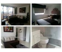 Apartamento amoblado en castropol - el poblado  cod: 6196
